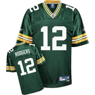 AARON RODGERS 12 GREEN BAY PACKER JERSEY BRAND NEW LARGE L 50 WITH NFL