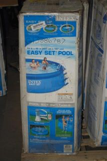 Intex Above Ground Easy Set Up Swimming Pool 15 ft x 42 In