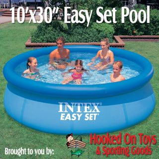 10 ft x 30 in Round Easy Set Above Ground Swimming Pool 56920