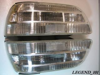91 95 Acura Legend Custom All Clear Tail Light Lens Covers 4dr L LS SE