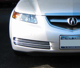 Acura 2005 on Acura Tl 04 05 06 Full Chrome Grill Trim Kit 2004 2005 2006