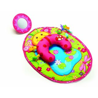 Love Take Along Tummy Time Pink Ladybug Play Activity Mat Gym NEW NIB