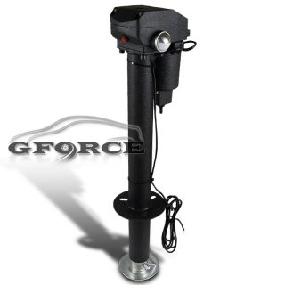TRUCK TRAILER TONGUE JACK LEVEL ADJUSTABLE 3500LBS LIFT POWER ELECTRIC