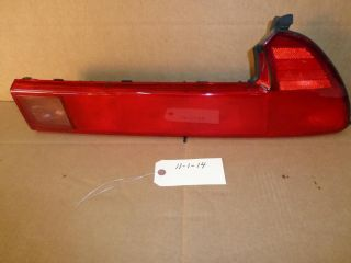 1991 2001 ACURA NSX NSX T FACTORY RIGHT PASSENGER SIDE TAIL LIGHT LAMP