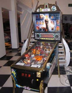 ADDAMS FAMILY PINBALL MACHINE BY BALLY ~ CUSTOM GOLD VERSION ~ $199