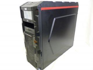 3000 Black ATX Full Tower Case w Aerocool V12XT Panel 1000W PSU