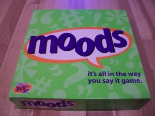 Moods Board Game Great Conditon Complete Adult Game