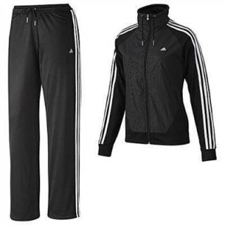 Adidas CLIMALite Knit TRACK Running SUIT Jacket & Pants Womens size