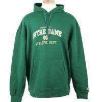 Notre Dame Fighting Irish Adidas Hot Property Hooded Sweatshirt Green