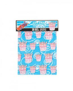 Gift Bag Wrap Happy Birthday Cake Gift Wrap 2 Sheet