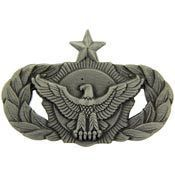 Air Force Senior Security Police Military Badge Pin
