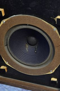 Large Advent Vintage Speakers; New Foam Surrounds Needed 21851