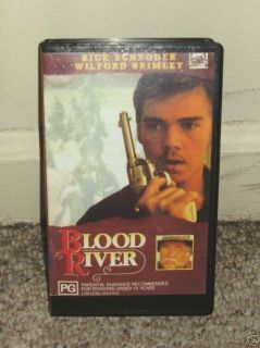 Blood River Rick Schroder Adrienne Barbeau 1991 VHS