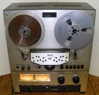 Akai GX 266D GX266D Open Reel to Reel Tape Recorder