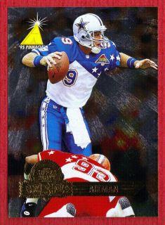 Troy Aikman Dallas Cowboys 1995 Pinnacle Super Bowl Card Show Promo