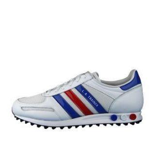 Adidas Originals Mens La Trainers White Blue Red Sizes 6 5 10 Code