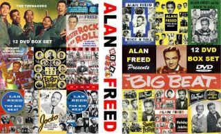 Doo Wop Party Alan Freed 250 Videos Complete Collection 12 DVD Box Set