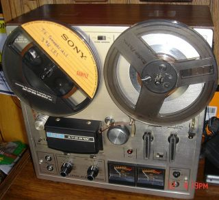 Akai 1722W Reel To Reel Tape Recorder Nice Working Condition