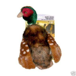 AKC Rope Neck Large Pheasant Dog Puppy Toy