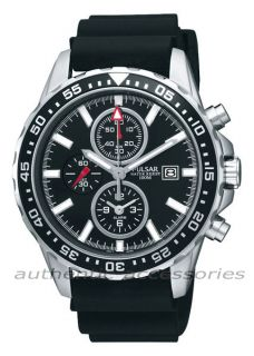 Pulsar by Seiko Gents Chronograph Alarm Watch PF3 949