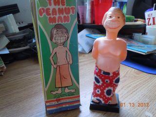1977 THE PEANUT MAN JIMMY CARTER PRESIDENT USA ADULT NOVELTY