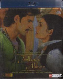 Jodha Akbar Hritik Aishwarya Rai Indian Blu Ray DVDs
