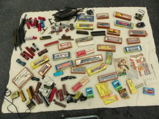 HO TRAINS Vintage HUGE LOT Tyco AHN Charmerz ENGINES CARS Accessories