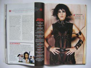 Max 05 Federica Felini Monica Bellucci Paz Vega Shirley Manson Elena