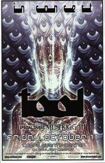 Tool Alex Grey Boulder Concert Poster 2002