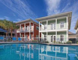 Wyndham Beach Street Cottages in Destin Florida Labor Day Weekend