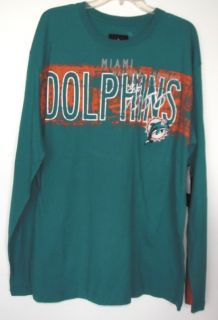 Miami Dolphins XL 3 PC Mens Game Day Box Set NFL Hoodie Vest L s T $