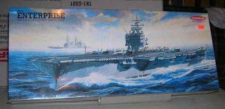Kangnam 1 600 USS Enterprise Aircraft Carrier Model Kit