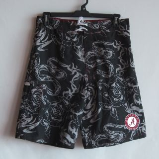 Alabama Crimson Tide Bathingsuit Swim Trunk Shorts L