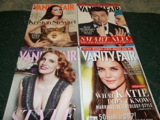Magazine Kristen Stewart Alec Baldwin Jessica Chastain Katie Holmes