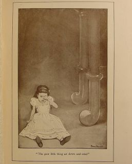 1902 Alice in Wonderland Alices Adventures Lewis Carroll Antique Art