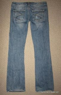 Silver Jeans Alex Ripped Distressed Boot Cut Jeans Womens Juniors Size