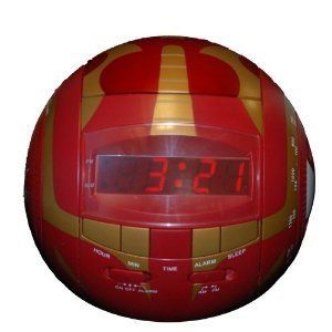 Alarm Clock Bakugan Red Alarm Clock Radio by Digital Blue