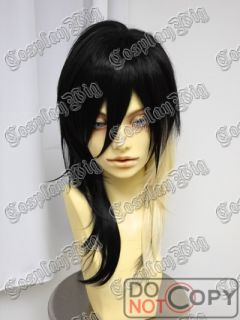 Kera Gal Gyaru Punk Long Black Platinum Blonde Fashion Wig
