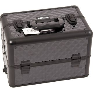 Cosmetic E Series Stand Alone Case or Add on Makeup Top Train Case