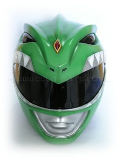 Mighty Morphin Power Rangers Green Power Ranger Helmet Costume