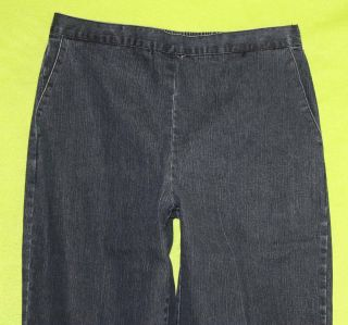 Alfred Dunner sz 12 Womens Blue Jeans Denim Pants Stretch GO59
