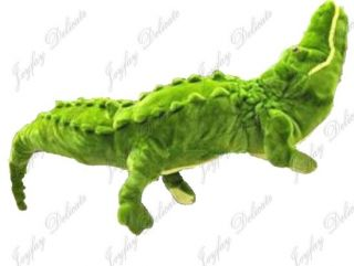 Giant Huge 43 Alligator Crocodile Green Stuffed Plush