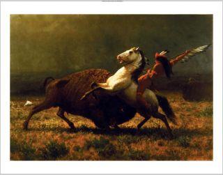 Albert Bierstadt Last of Buffalo Native American