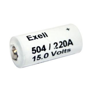 Exell A220 504A Alkaline 15V Battery Neda 220 LR154 10F15