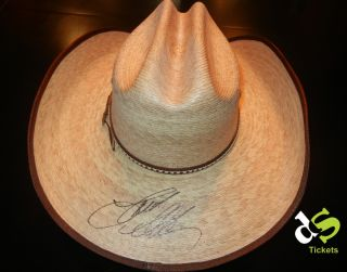 Autographed Jason Aldean Cowboy Hat Charity Auction