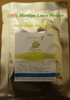 100% Leave Powder MORINGA Pure 40 g. High QUALITY ,Good Packing ,Fully