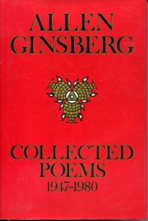 Allen Ginsberg Beat Poet Collected Poems Signed Autograph 1st Edition
