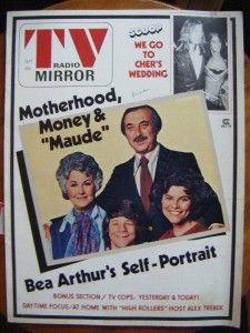 tv radio mirror magazine maude baretta cher 1975