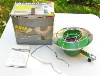 American camper 1094 Ceramic Element Propane Camping Heater with Box