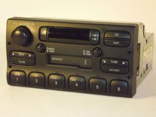 Lincoln Town Car Radio Amfm Cassette Part Number F5VF 18C852 DD 1995